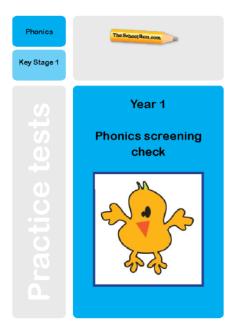 Phonics screening mock test 2
