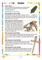 thumbnail of Easter Differentiated Reading Comprehension Activity English