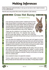 thumbnail of Easter Tale Inference Activity Sheets
