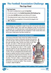 thumbnail of FA Cup Differentiated Reading Comprehension Activity