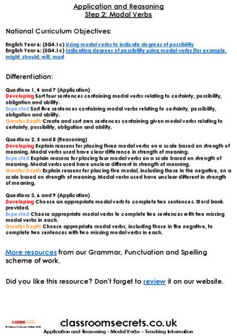 Modal-Verbs part 2